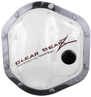 CLEARGEARZ Clear Differential Cover; DANA 44 (10 Bolt)- Clearance picture