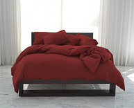 SHEEX® Red California King Set with Pillowcases