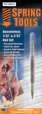 Double Ended 1/32 & 2/32 Nail Set