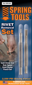 2 Piece Rivet Removal Set