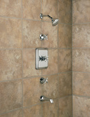 THERMOSTATIC TUB & SHOWER SET
