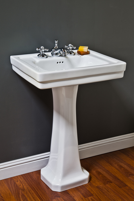 Porcelain Pedestal Sink Strom Plumbing By Sign Of The Crab