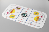 Stiga Playoff Rod Hockey Ice Sheet