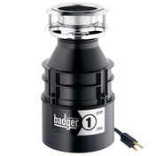 Badger 1 Garbage Disposal-With Cord