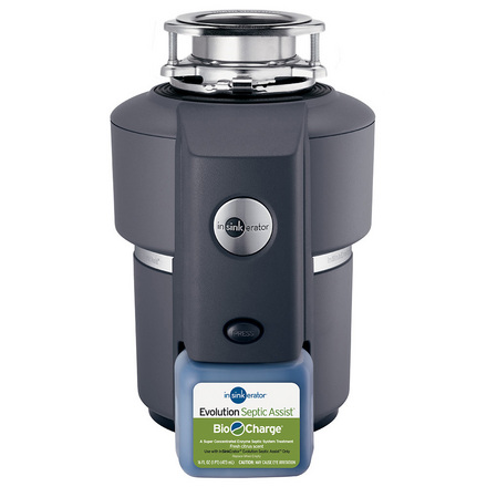 InSinkErator Evolution Septic Assist Garbage Disposal picture