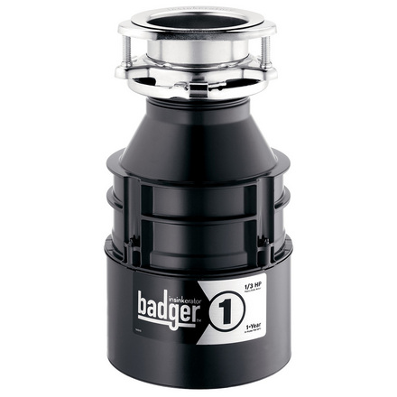 InSinkErator Badger 1 Garbage Disposal