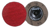 """Mini Grinding Discs with Twist-to-Lock Backing - Ceramic 2"""" 24 Grit.  25 pack."""