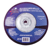 "Type 28 Koolie Hat Grinding Wheels - 9"" x 1/4"" x 5/8-11. 1  pack."