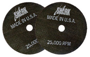 "Cut-off Wheel - Aluminum Oxide 4.5"" x .045"" x 7/8"" 46 Grit - 10 pack."