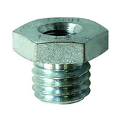 Wire Wheel Adaptor Nut for 3/8-24 NF spindles.