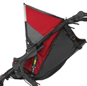 BOB REVOLUTION PRO CANOPY-HOOD ASSY COMPLETE RED