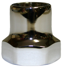 300-1013: Valve Stem Cap for handle operated polished chrome C-135/C-355 picture