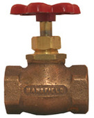 "20.60: 3/4"" FIP Compression Stop Valve with Red Handle"
