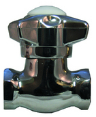 "184-38: Self Closing, Multi-Purpose Valve, 3/8"" FIP x 3/8"" FIP"