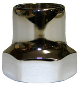 300-1013: Valve Stem Cap for handle operated polished chrome C-135/C-355
