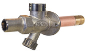 """C-244T08: 8"""" Residential anti-siphon wall hydrant, Loose Key"""