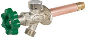"P-164T04: 4"" Residential Quarter-turn anti-siphon wall hydrant"