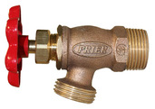 "526.62: 3/4"" MIP  Boiler drain with red handle"