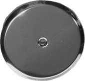 "C-330WL03: 3"" Stainless Steel Wall Cover"