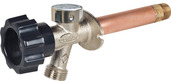 """478-14-LF: 14"""" Residential LEAD FREE anti-siphon wall hydrant, Mansfield Style"""