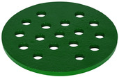 """P-325-05: 5"""" Cast Iron Drain Cover, 1/4"""" Thick"""