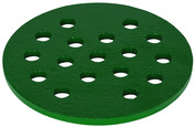 """P-325-758: 7 5/8"""" Cast Iron Drain Cover, 1/4"""" Thick"""