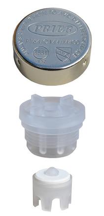 630-7500: Mansfield Vacuum Breaker Repair Kit (Gray) for series 400/500 picture