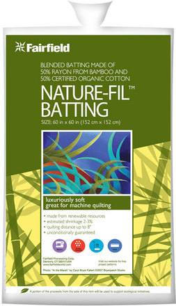 "60"" x 60"" Nature-Fil™ Blend quilt batting picture"