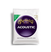 Martin Acoustic Extra Light Gauge 80/20 Bronze 3 Pack