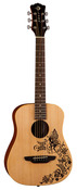 Luna Safari Fantasy Acoustic Guitar