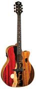 Luna Vista Bear Tropical Wood Electro Acoustic Guitar