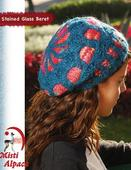 1077 Stained Glass Hat Pattern
