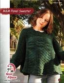 1094 M & M's  Panel Sweater