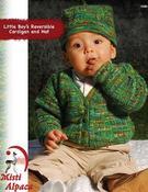 1080 Little Boy's Reversible Cardigan & Hat