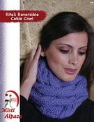 Rita's Reversible Cable Cowl