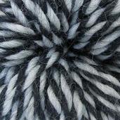 Black/Gray Moulinette Chunky