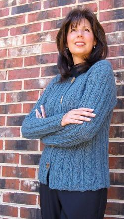 606 Jana Royal Cardigan picture