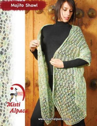 1007 Mojito Shawl Pattern picture