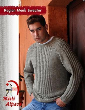 Raglan Men's Sweater picture