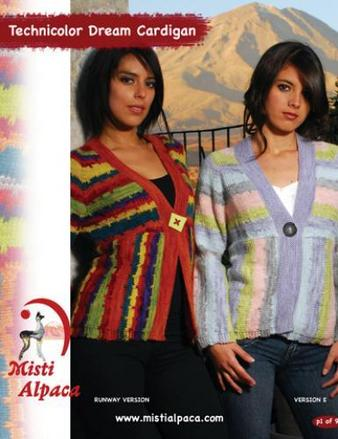 1075 Technicolor Dream Cardigan picture