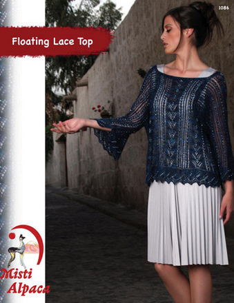 1086 Floating Squares sweater