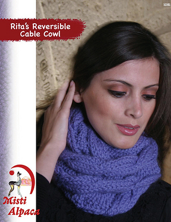 1081 Rita's Reversible Cable Cowl picture