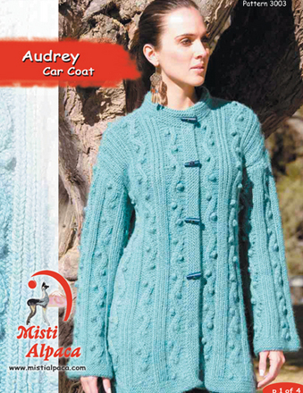 3003 Audrey Car Coat Pattern picture