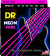 NPB6-30 NEON Hi Def Pink 6 String Bass Medium 30-125