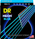 NBA-10 NEON Blue Acoustic Extra-Lite 10-48
