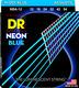 NBA-12 NEON Blue Acoustic Lite 12-54