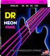 NPB-45 NEON Hi Def Pink Bass Medium 45-105