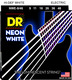 NWE-9/46 NEON White Electric Guitar Lite n Heavy 9-46