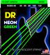 NGB5-40 NEON Hi Def Green 5 String Lite 40-120