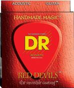 RDA-12 Red K3 Coated Acoustic 12-54